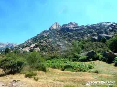 La Pedriza-Río Manzanares Madrid-Charca Verde; viajes puente de la constitucion vacaciones caños d